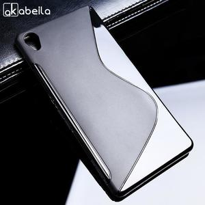 AKABEILA S line Phone Cases For Sony Xperia Z3 L55U D6603 D6653 D6616 L55T 5.2 inch Covers shell skin Soft TPU Anti-Skidding Shell Anti-Skidding Phone Case Cover Housing - intl