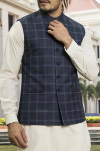 Almirah Summer Spring Collection Vol.01 2019 Blue BLENDED Men's Waistcoat
