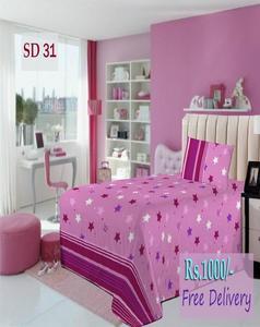 Single Bed Sheet Sd 31