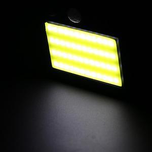 Outdoor 48 LED Solar Power Motion Sensor Wall Light Waterproof Garden Lamp