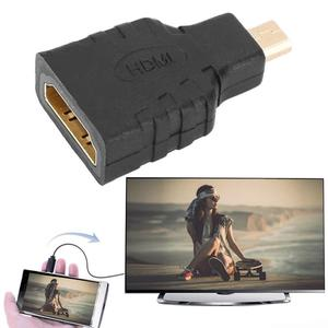 HDMI Type A Female to Micro HDMI Type D Male High Speed Adapter Converter Black