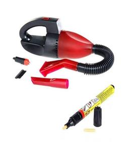 Pack Of 2  Car Vacuum Cleaner + Car Scratch Remover Pen