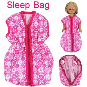 Cocoapps Store-Doll Accessories Doll Bedding Sleep Bag for 18inch American Girl or 15 Inch Baby