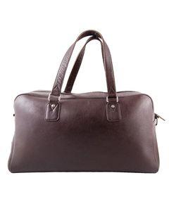 Sienna De Luca Brown Leather Daffal Bag For Men - Emrick-1