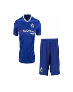 Blue Polyester Chelsea Football Kit