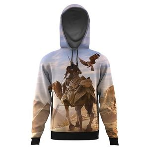 assassins creed origins ALL OVER PRINTED HOODIE-Multicolor-AO-HOOD-67-XS