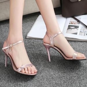 Women's Fashion Open Toe High Heels  Women Party Wild  Stiletto Sandals
