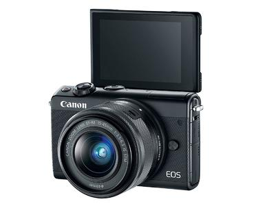 Canon EOS M100 Mirrorless Digital Camera with 15-45mm Lens