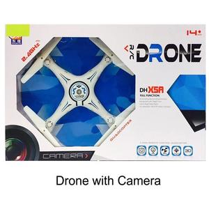 2.4Ghz Remote Control Quadcopter Drone with Camera , Memory Card and 360 Flip