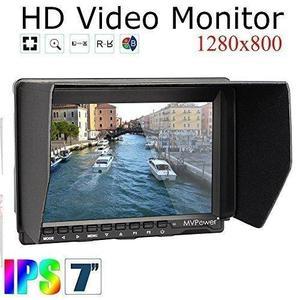 Camera Field Monitor 7 inch Ultra HD 1280x800 IPS Screen