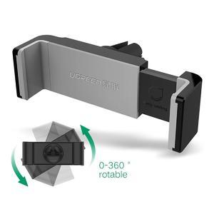 Ugreen Portable 360 Rotation Air Vent Car Phone Holder Stand - Gray