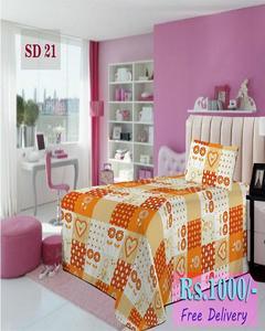 Single Bed Sheet Sd 21