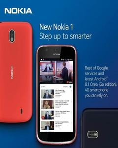 "Nokia 1 - N1 - 4.5"" - 1Gb Ram - 8Gb Rom - 5 Mp Camera - Dark Blue"