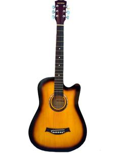 Victoria Semi Acoustic Guitar 39'' with 4 band EQ- Sunburst