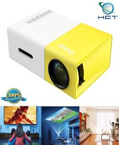 Yg-300 Lcd Mini 1080P Portable Led Projector Home Cinema Projector (F)