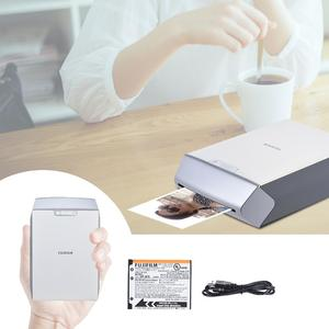 Fujifilm Instax SHARE SP-2 Mini Pocket WiFi Instant Smartphone Printer USB Rechargeable Support Edit Beautify Share for iOS iPhone 7/7 plus/6/6s/6 plus for Samsung Huawei TCL Android