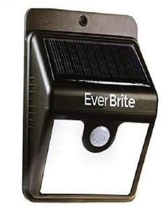 Solar Outdoor LED Light - Black