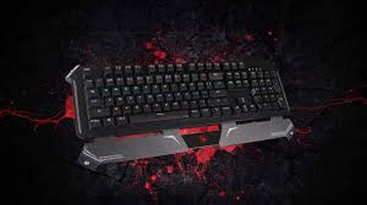 BLOODY B740S BLACK SWITCH Black Optical Mechanical Gaming Keyboard with Neon Colors Light ORIGINAL