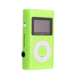 Mini USB MP3 Music Media Player LCD Screen Support 32GB Micro SD TF Card