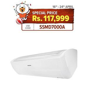 Samsung Wind Free Digital Inverter Heat & cool -  Air Conditioner - 1.5Ton AR18NSPXDWK2PM
