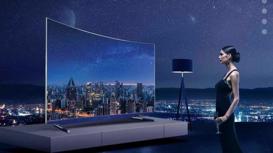 TCL 55 P5 CURVED UHD SMART LED TV