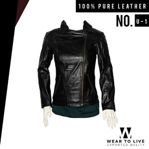 Women Tempting Black Biker Jacket