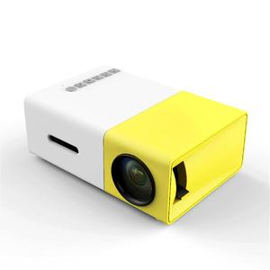 YG300 LCD Mini Portable 1080P LED Projector Home Cinema Theater USB SD HDMI EU PLug
