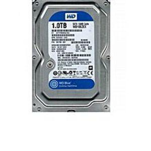 WDBlue 1TB Desktop Hard Disk Drive - 7200 RPM SATA 6Gb/s 64MB Cache 3.5 Inch - WD10EZEX
