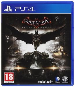 Batman Arkham Knights PlayStation 4 Game Dvd