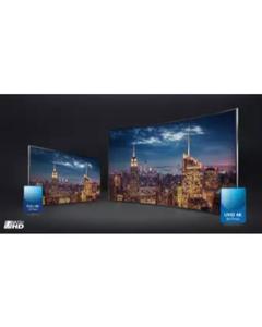 "SMART TV UHD 4K LED FLAT SCREEN DOUBLE GLASS - 55"" INCH - BLACK"
