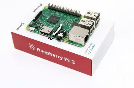 Raspberry Pi 3 Model B 1.2GHz Quad Core, Built In WiFi & Bluetooth
