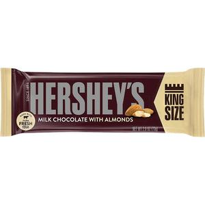 Hersheys Chocolate King Size Almond 73 gm