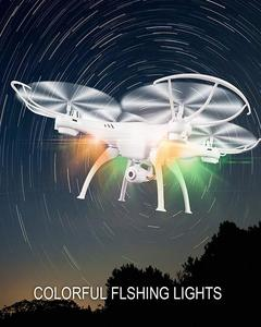 2 4 Ghz 6 Axis Aerial Drone Remote Control 8Mp Camera Wifi Drone Sensor  With Live Hd Viewing & Recording Function