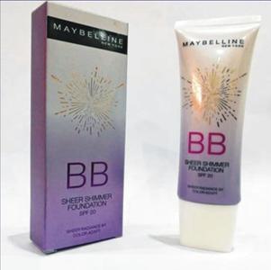 Maybelline BB Sheer Shimmer Foundation SPF 20 60G