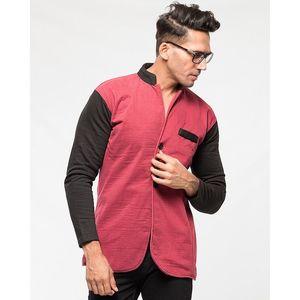 Tsquare Mens Button Fleece Coat - NA - L