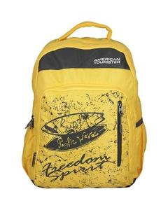 Pack of 2 - At Pop I Backpack + Pencil Case - Honey Yellow