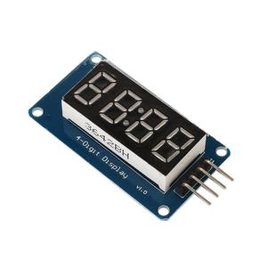 Amazing  4 Digits Module 7 Segment Display Circuit Board Electronic For Arduino 4 Digits