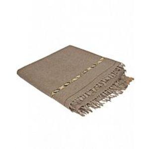 DesiBazaarBrown Wool Kashmiri Shawls for Men I HMS-016