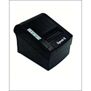 speed-x 300 Thermal Receipt Printer Usb+Rs232+Lan - Black