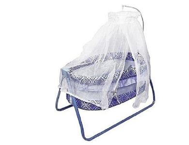 Imported Genuine Baby Swing Cot Cradle Dual Stands Support along with Mosquito Net - Purple