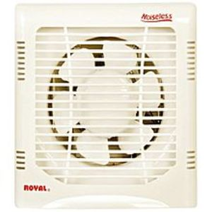 Royal Fans Plastic Noiseless Fan - Exhaust 10""