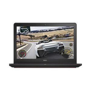 Inspiron 15 7559 Gaming Laptop - 15.6 4K - Core i7 6700HQ 2.7 GHz Quad Core - 4GB GTX 960M - 1TB SSHD - 8GB RAM - Windows 10 - Matte Black & Red (Supplier Warranty)