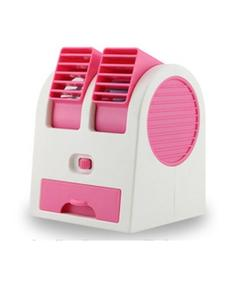 Mini Cooler USB Fan With Fragrance - Pink