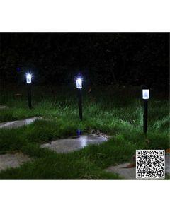 Easy Shop Pakistan 2Pcs High Quality Waterproof Solar Lamps Garden Lawn lightings