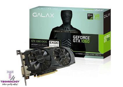 GALAX GeForce® GTX 1060 EXOC 6GB