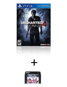 PS4 4 DVD Uncharted 4: A Thief's End PS4 PLUS KONTROL FREEK