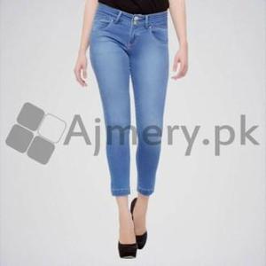 Maham Mart A to Z - Women Blue Skinny Jeans. BJ-004