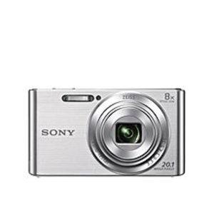 SonyDSCW830 - 2.7 inch LCD - 20.1 MP Digital Camera - 8x Optical Zoom - Silver