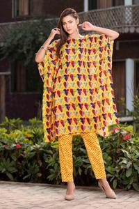 SITARA STUDIO Sapna Collection 2019 Multicolor Lawn 2PC Unstitched Suit For Women - 6127 C  (Un-stitched)