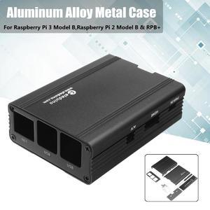 Aluminum Alloy Metal Case For Raspberry Pi 3 B,Raspberry Pi 2 Model B & RPB+